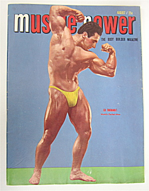 Muscle Power Magazine August 1950 Ed Theriault