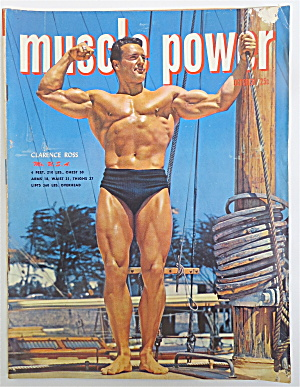 Muscle Power Magazine October 1950 Clarence Ross
