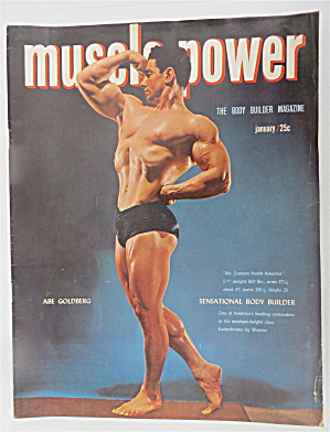 Muscle Power Magazine January 1951 Abe Goldberg