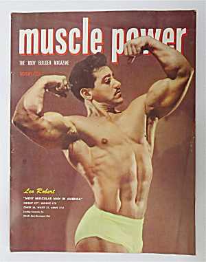 Muscle Power Magazine February 1951 Leo Robert