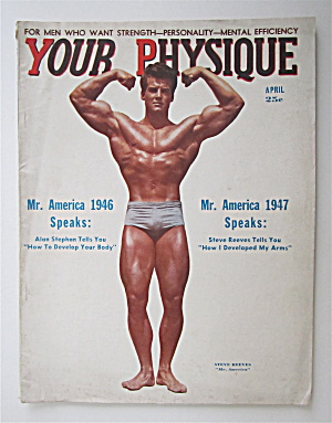 Your Physique Magazine April 1948 Steve Reeves