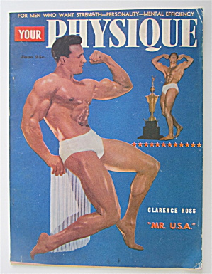 Your Physique Magazine June 1948 Clarence Ross