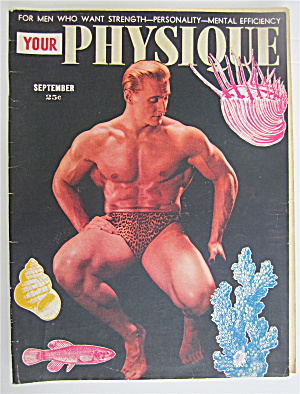 Your Physique Magazine September 1948 Steve Reeves