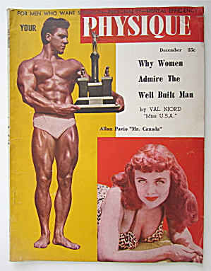 Your Physique Magazine December 1948 Allan Pavio