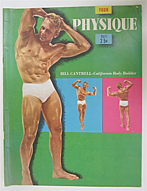 Your Physique Magazine April 1949 Bill Cantrell