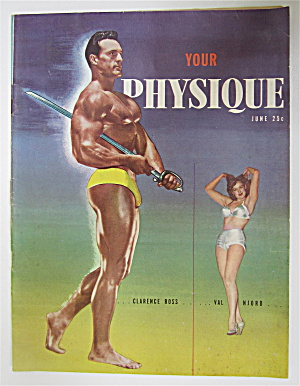 Your Physique Magazine June 1949 Clarence Ross
