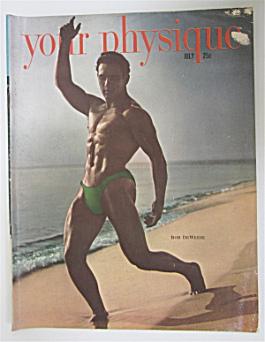Your Physique Magazine July 1949 Bob Deweese