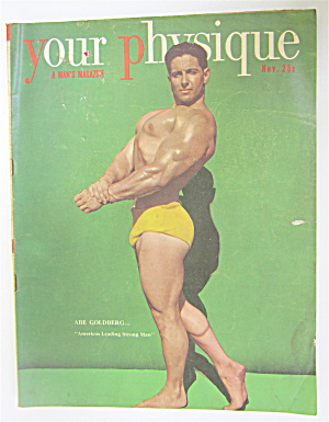 Your Physique Magazine November 1949 Abe Goldberg