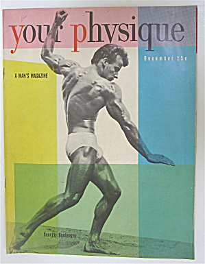 Your Physique Magazine December 1949 George Boulanger