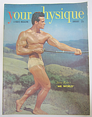 Your Physique Magazine January 1950 Steve Reeves