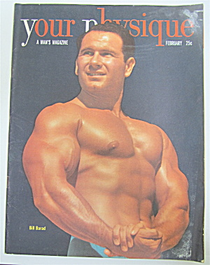 Your Physique Magazine February 1950 Bill Barad