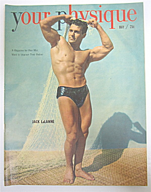 Your Physique Magazine May 1950 Jack Lalanne