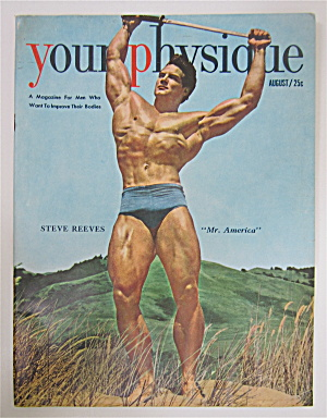 Your Physique Magazine August 1950 Steve Reeves