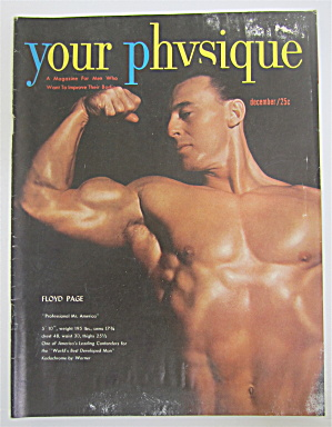 Your Physique Magazine December 1950 Floyd Page
