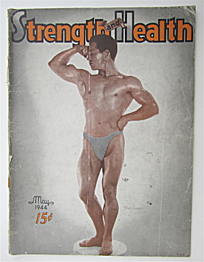 Strength & Health Magazine May 1944 Fred Currie