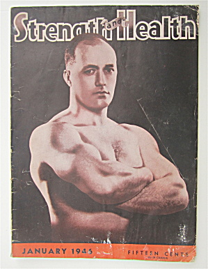 Strength & Health Magazine January 1946 Bob Hoffman