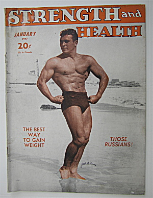 Strength & Health Magazine January 1947 Jack La Lanne