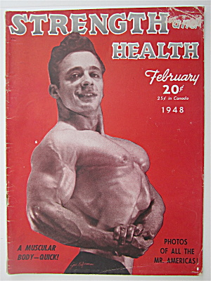Strength & Health Magazine February 1948 G Eiferman