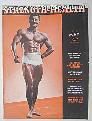 Strength & Health Magazine May 1948 Fraysher Ferguson