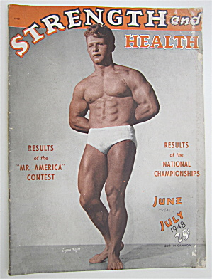 Strength & Health Magazine July 1948 Eugene Meyer