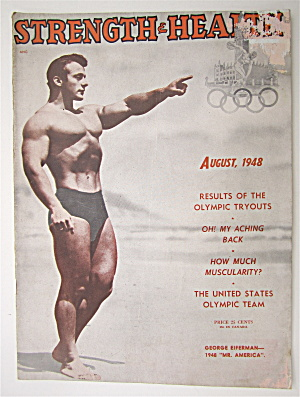 Strength & Health Magazine August 1948 George Eiferman