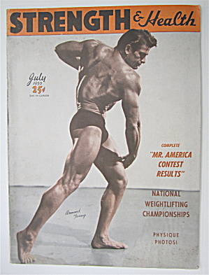 Strength & Health Magazine July 1950 Armand Tanny