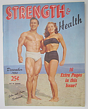 Strength & Health Magazine December 1950 Farbotnik