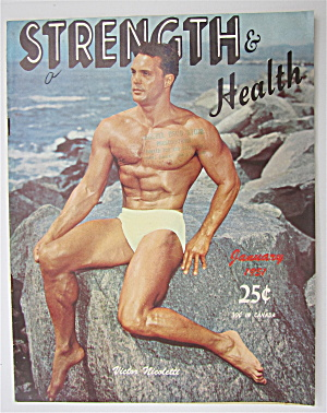 Strength & Health Magazine January 1951 V Nicoletti
