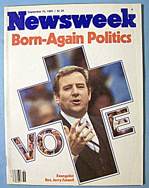 Newsweek Magazine-september 15, 1980-born Again