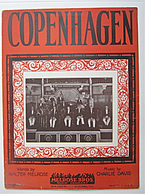Sheet Music 1924 Copenhagen
