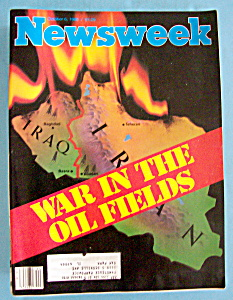 Newsweek Magazine - October 6, 1980 - War In Oil Fields (Image1)