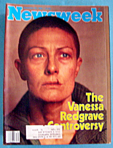 Newsweek Magazine -september 29, 1980- Vanessa Redgrave