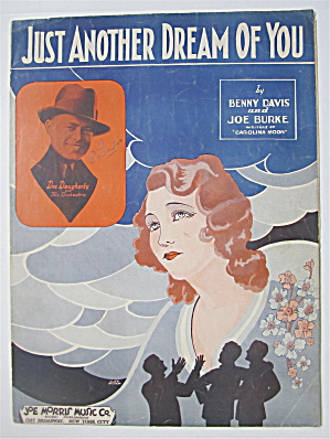 Sheet Music For 1932 Just Another Dream Of You
