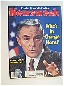 Newsweek Magazine - April 6, 1981