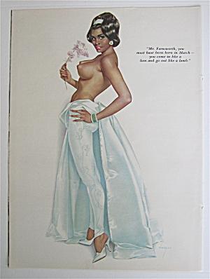 Alberto Vargas Pin Up Girl March 1964 Mr Farnsworth (Image1)