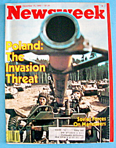 Newsweek Magazine - December 15, 1980 - Poland (Image1)