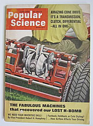 Popular Science Magazine June 1966 Fabulous Machines  (Image1)