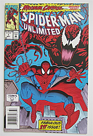 Spider Man Unlimited Comic May 1993 Carnage Rising  (Image1)