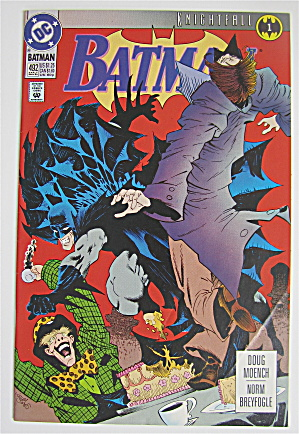 Batman Comic May 1993 Promo Dc Comic # 492