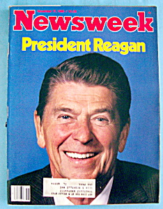 Newsweek Magazine-november 17, 1980-president Reagan