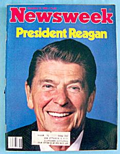 Newsweek Magazine-November 17, 1980-President Reagan (Image1)