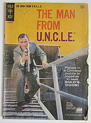 The Man From U. N. C. L. E. Comic 1965 # 2