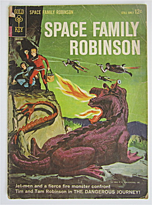Space Family Robinson April 1964 Dangerous Journey