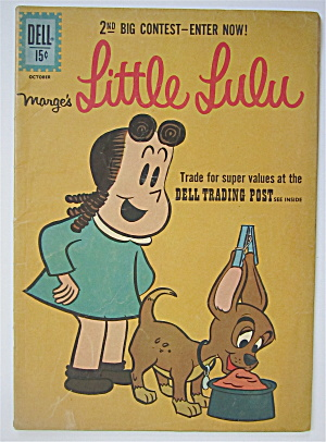 Marge's Little Lulu Comic October 1961 #160