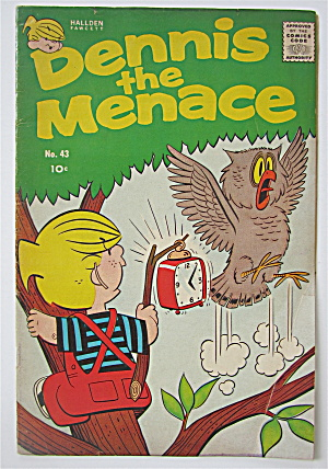 Dennis The Menace Comic June 1960 #43 (Image1)
