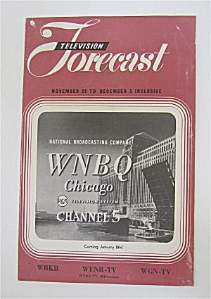 Television Forecast November 29, 1948 WNBQ  (Image1)