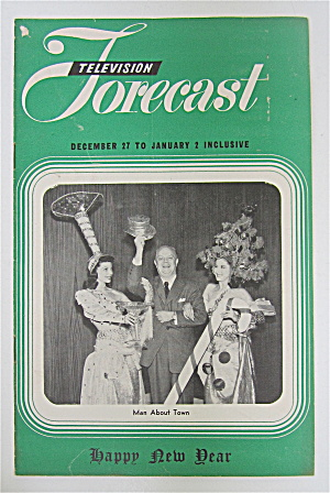 Television Forecast December 27, 1948 Man About Town