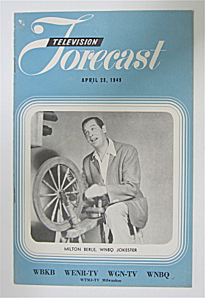 Television Forecast April 23, 1949 Milton Berle