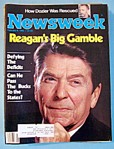Newsweek Magazine - February 8, 1982 - Reagan's Gamble