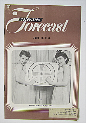 Television Forecast June 18, 1949 First Test Pattern